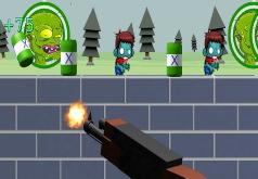 игры тир зомби