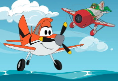 Игра Самолеты Дисней: раскраски