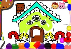 Игра Раскраски дома