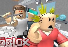 Игра Роблокс: побег из парикмахерской