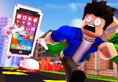 Игра Роблокс побег от Айфона 7