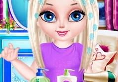 Игра Прическа Блондинки