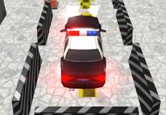 Игра Парковка нового автомобиля полиции