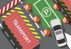 Игра Трудная парковка