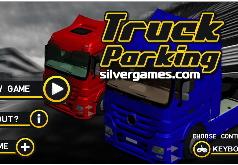 Игра Большой грузовик Профессиональная парковка
