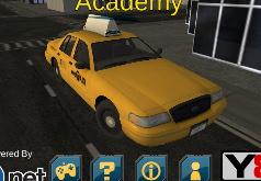 Игра Парковка такси по городу
