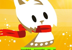 Игра Приключения снежного котенка
