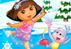 Игра Танцы на льду для девочек