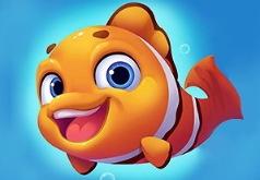 Игра Заполни море рыбками