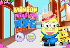 Игра Миньон летит в Нью-Йорк