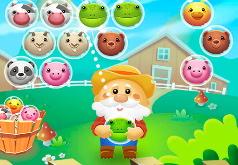 Игра Ферма: стрелялка по пузырям