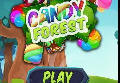 Игра Три в ряд: Конфетный лес