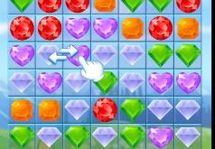 Игра Драгоценные алмазы: три в ряд