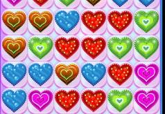 Игра День святого Валентина: три в ряд
