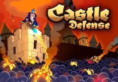 Игра Защита замка от монстров