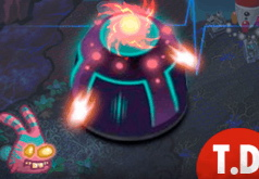 Игра Затерянная планета: защита башни