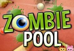 Игра Бильярд с зомби