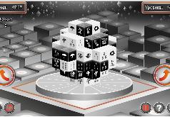 Игра Черно-белые кости маджонг