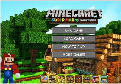 Игры Когда Майнкрафт встречает Марио