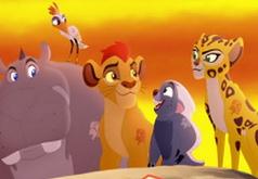 Игра Король лев собирает гвардию