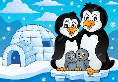 Игра Пингвин Фото пазлы