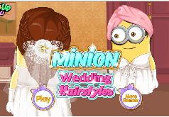 Игра Миньоны: свадебные прически