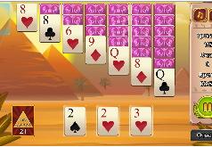Игра Клондайк: пирамида играть бесплатно