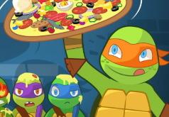 Игра Пицца по-Черепашьи