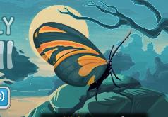 игры клубничка ловит бабочек