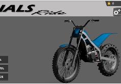 Игра Испытания на Мотоцикле