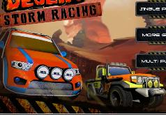 Игры Гонка в жаркой пустыне