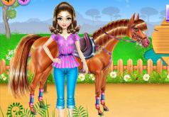 игры про лошадей ферма бродилки