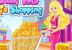 игры для девочек барби в магазине покупает