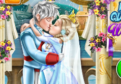 Игры Свадебный поцелуй Эльзы