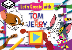 Игры Рисуем фигурки с Томи и Джерри часть 2