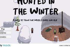 игра охота зимой