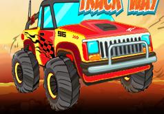 игры грузовик монстр в пути