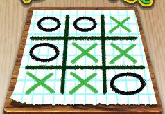Игры Крестики нолики на бумаге