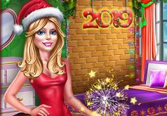 Игры украшаем комнату на новый год