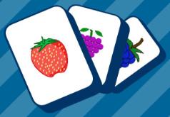 игры ищите пары фруктов