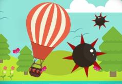 Игры Опасное приключение воздушного шарика