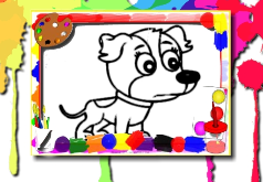 игра Краска мне собак