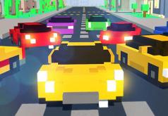 Игры Майнкрафт веселые гонки