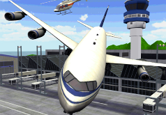 игра пилот воздушного лайнера