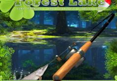 игры рыбалка на лесном озере