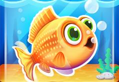 игры блестящая золотая рыбка
