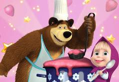 Игры Маша и медведь готовят