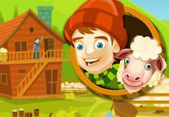 Игра Загнать овец на ферму онлайн