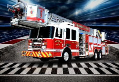 Игры Пожарная машина Пазл