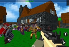 игра зомби блоки выживание